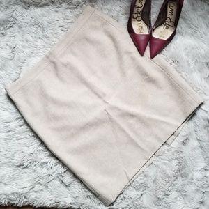 No. 2 Pencil Skirt in double serge wool (NWOT)